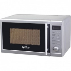 HORNO MICROONDAS EAS EMSG20L GRILL 20 LITROS 700 WATIOS PLATA