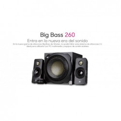 ALTAVOZ WOXTER 2.1 BIG BASS 260