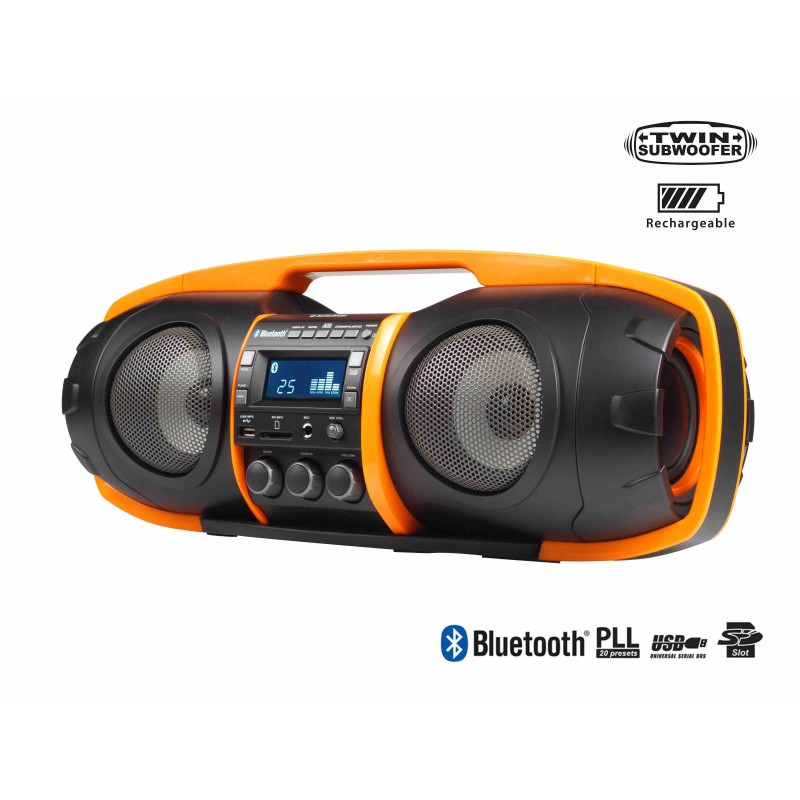 RADIO PORTATIL AUDIOSONIC RD1549